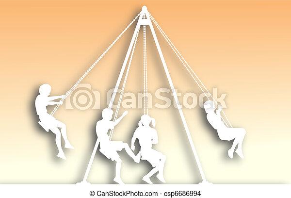 Swings cutout - csp6686994