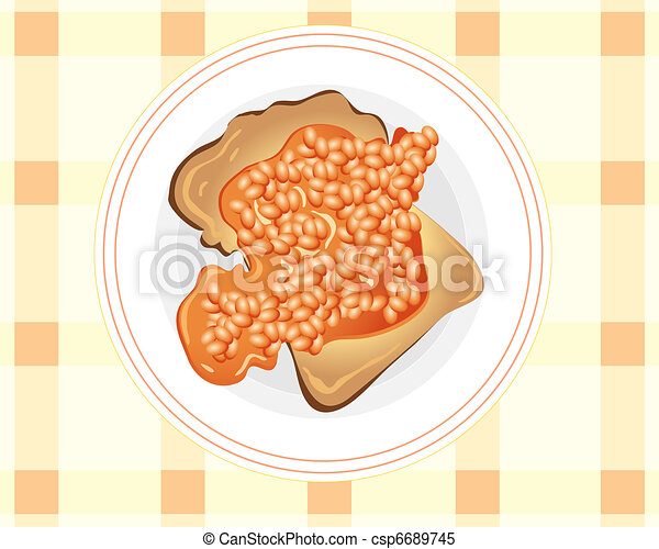 Baked beans Clipart Vector Graphics. 407 Baked beans EPS clip art ...