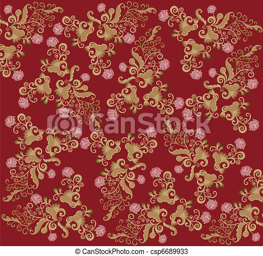 pattern rococo - csp6689933