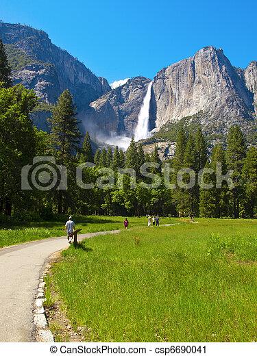 Yosemite Upper Falls - csp6690041