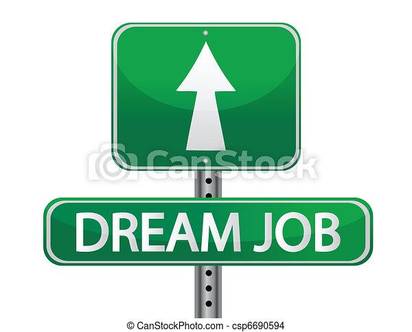 Dream job - csp6690594