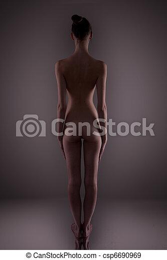 art nude - csp6690969