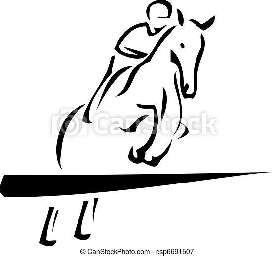 Equestrian Sport - csp6691507