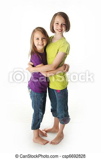 Sweet sisters - csp6692828