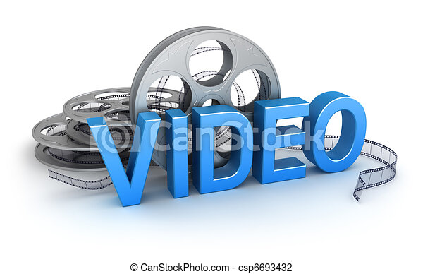 Video. Concept icon - csp6693432