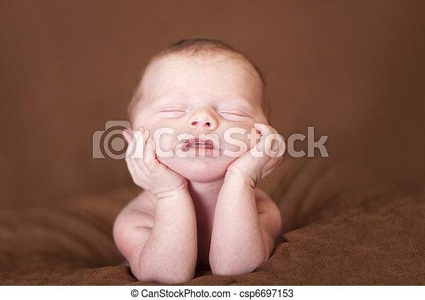 Baby art - csp6697153