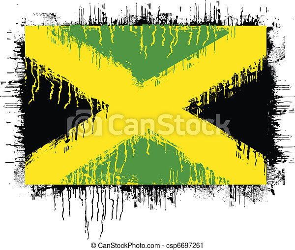 flag of jamaica - csp6697261