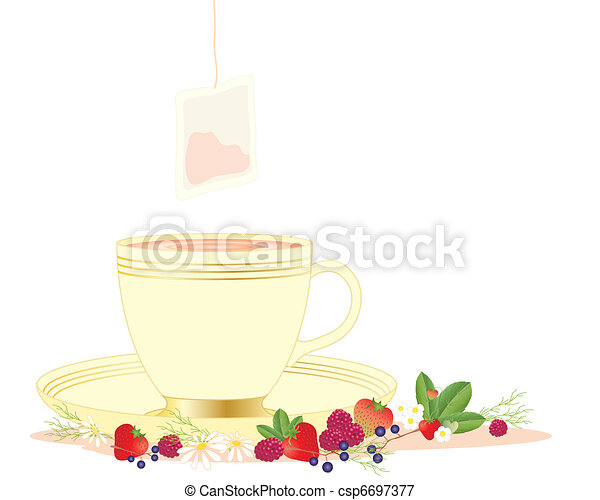 herbal tea - csp6697377