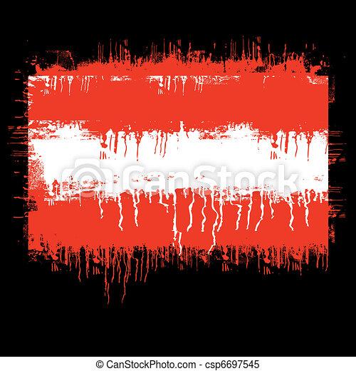 flag of Austria - csp6697545