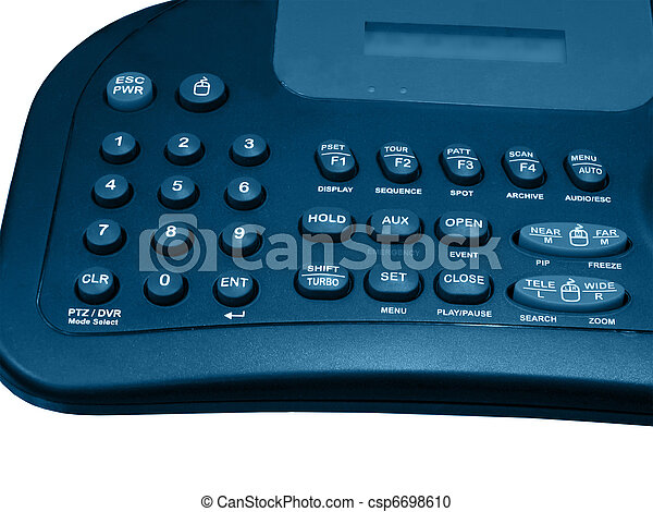 security system control panel, safety, isolated - csp6698610