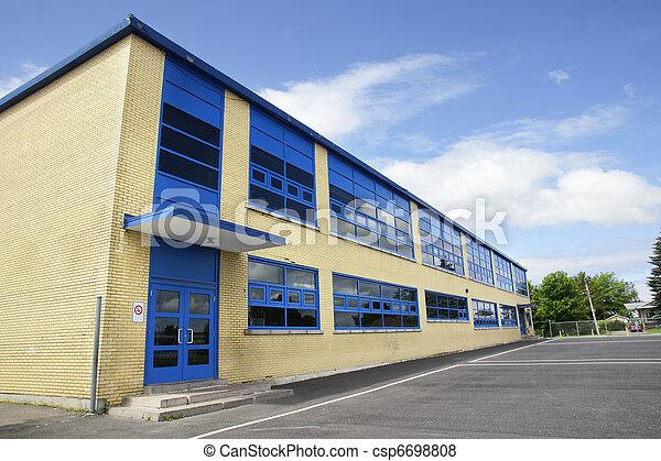 Local brick school - csp6698808