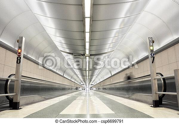 Endless corridor - csp6699791