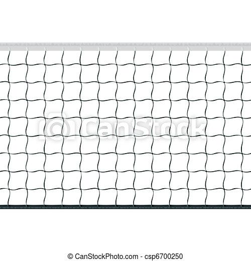 Seamless volleyball net - csp6700250