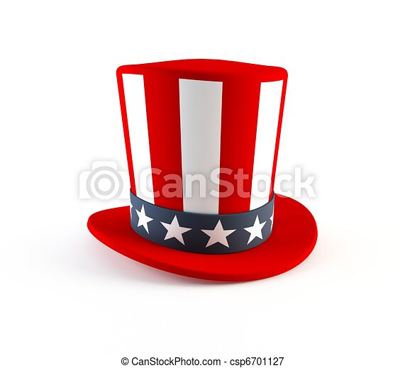 4th of July hat - csp6701127