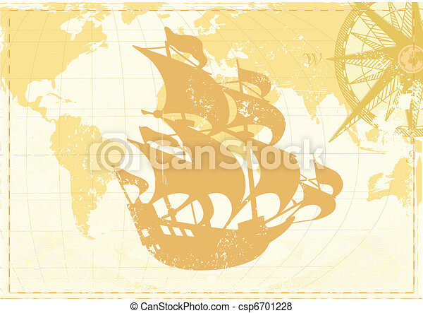 Vintage word map - csp6701228