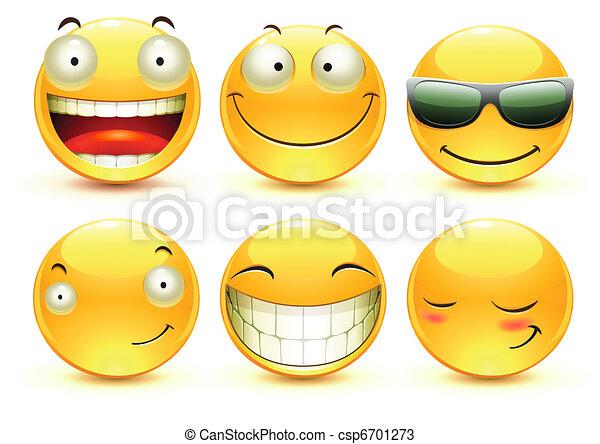 Emoticons - csp6701273