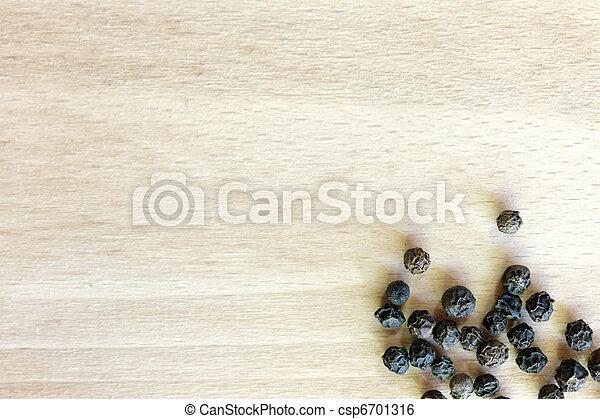 Black Pepper heap