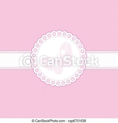 Baby pink background - csp6701638