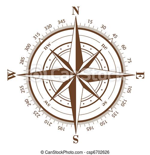 Compass Rose - csp6702626