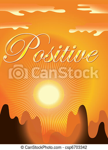 Positive backround - csp6703342