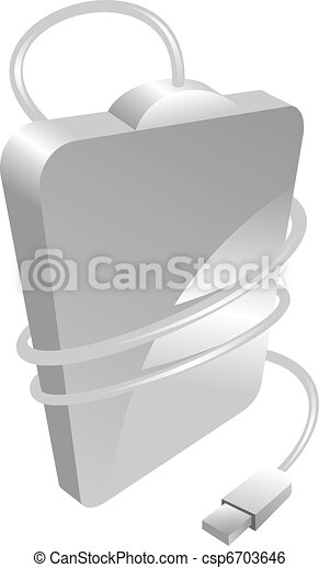 portable hard disc drive - csp6703646