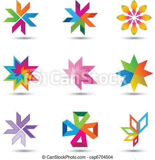 Corporate design elements set - csp6704504