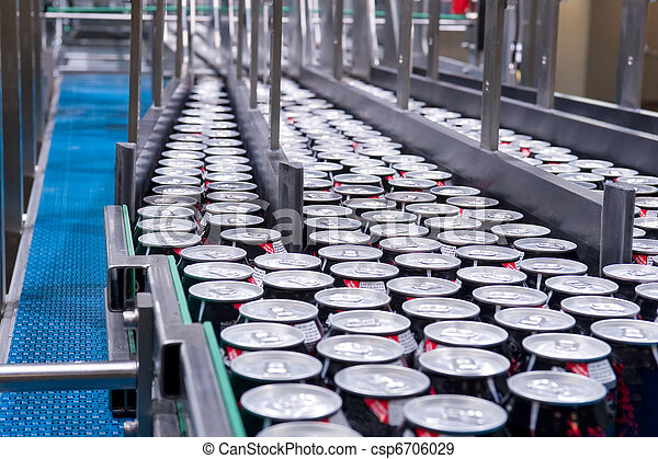 Filling of beverage cans - csp6706029