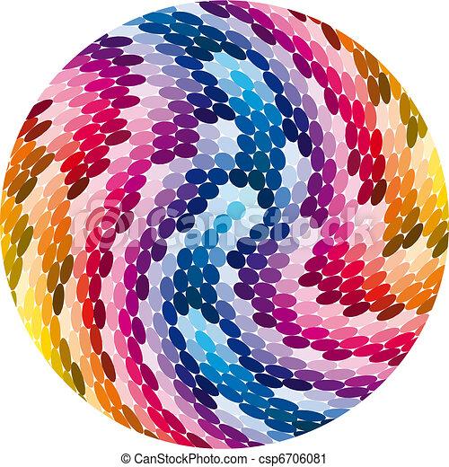 Range of colors - csp6706081