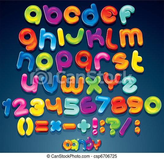 Fun Candy Font - csp6706725