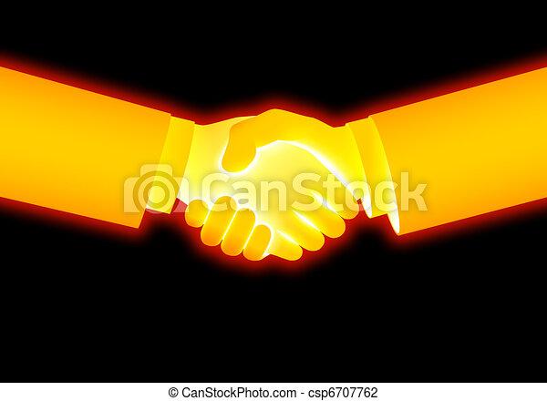 handshake - csp6707762