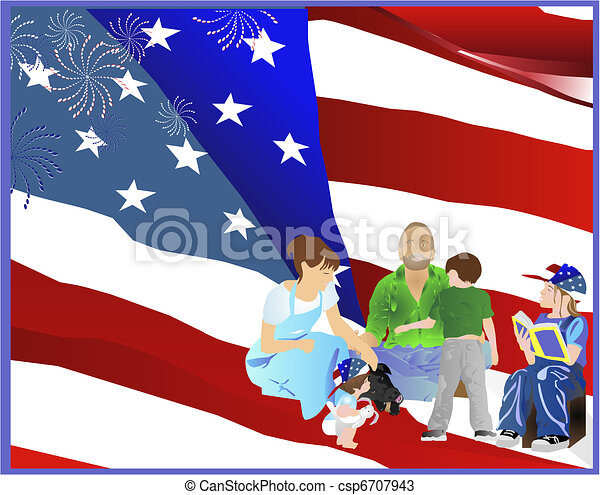 Family Days, in the Good USA - csp6707943