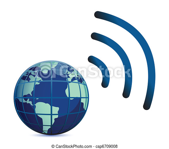 earth wireless connection  - csp6709008