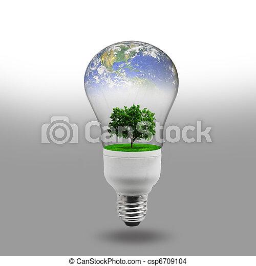 Energie, begriff, erneuerbar - csp6709104
