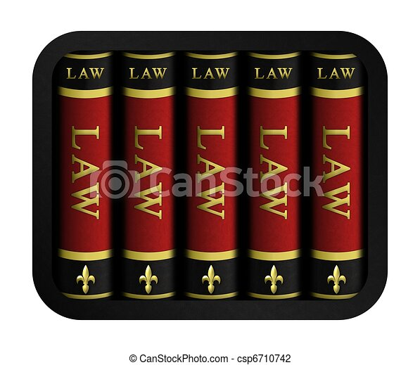 Law Books - csp6710742