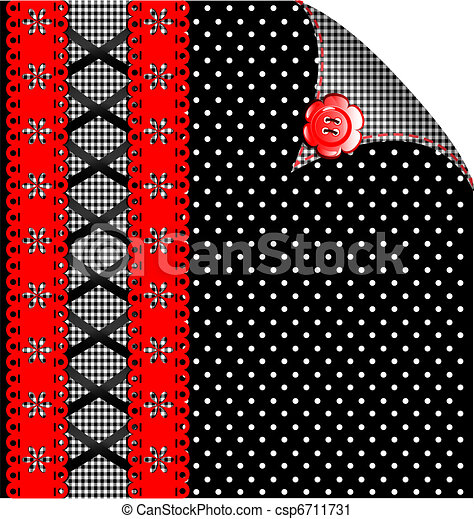 red-black abstract variation - csp6711731