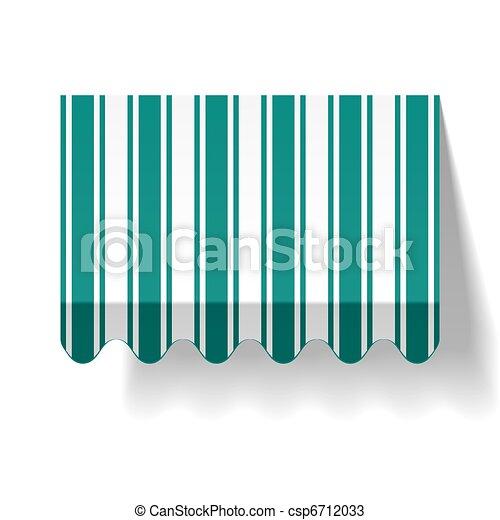 Drop awning - csp6712033