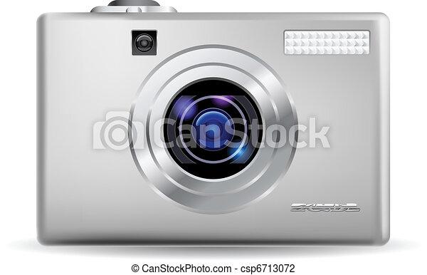 Realistic digital camera - csp6713072