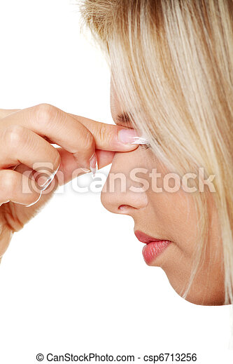 Sinus pain - csp6713256