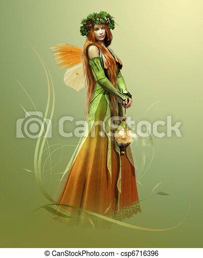Deep Forest Elf - csp6716396