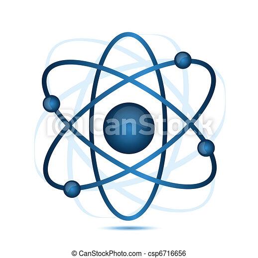 blue atom  - csp6716656