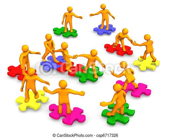 Teamwork Business Company - csp6717326