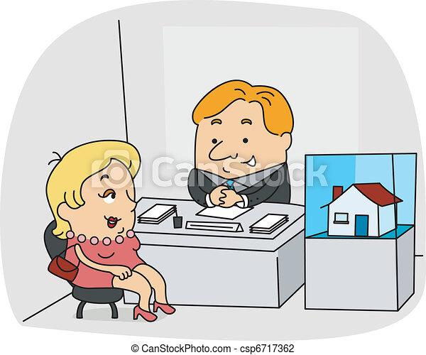 Real Estate Agent - csp6717362