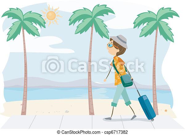 Summer Trip - csp6717382