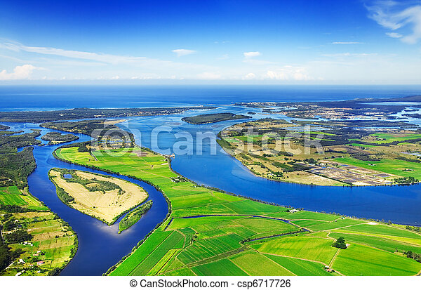 Aerial waterways - csp6717726