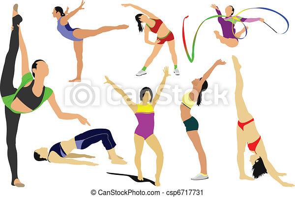 acrobatic, action, artistic, athle - csp6717731