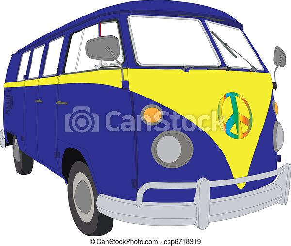 Camper van vw Vector Clip Art Illustrations. 20 Camper van vw ...