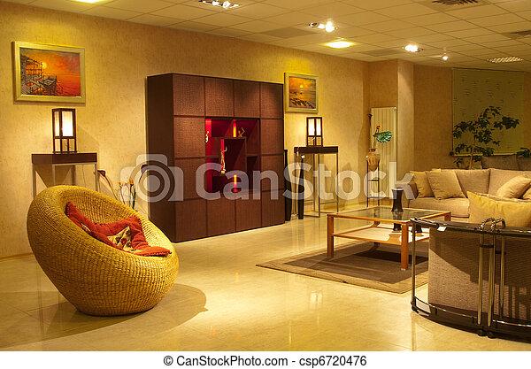 Interior residential apartments - csp6720476