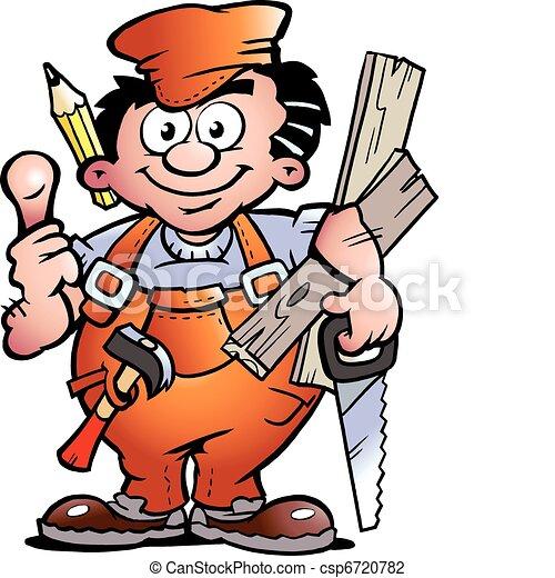 Carpenter Handyman - csp6720782