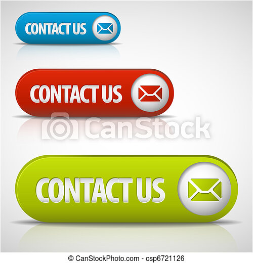 set of contact us buttons - csp6721126