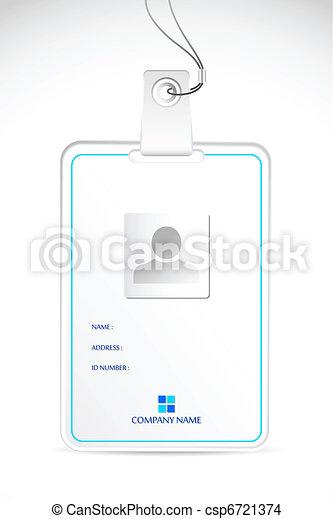 Identity Card - csp6721374
